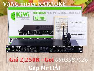Vang Mixer Karaoke Kiwi Audio X9 Pro sản phẩm New Model 2021