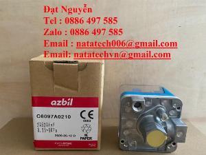 C6097A0210,Công tắc áp suất,Azbil,