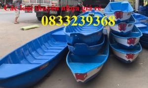 Thuyền tam bản 3m, Thuyền chèo tay 3m, thuyền nhựa chở 3 người tại Sài Gòn(liên hệ báo giá)