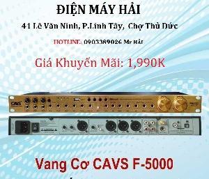Vang Karaoke CAVS F-5000 sản phẩm chính hãng bảo hành 1 năm