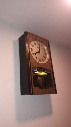 Đồng hồ quả lắc treo tường của Nhật – có ảnh