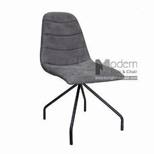 Ghế ăn chân chụm sắt sơn bọc vải hiện đại giá rẻ tại HCM