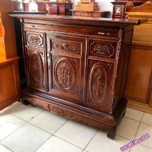 Tủ gỗ thờ cúng gỗ xoan đào