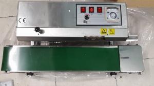 Máy hàn mép túi liên tục FR900, máy ép miệng bao nilon, máy ép túi thủ công, máy ép miệng bao cà phê