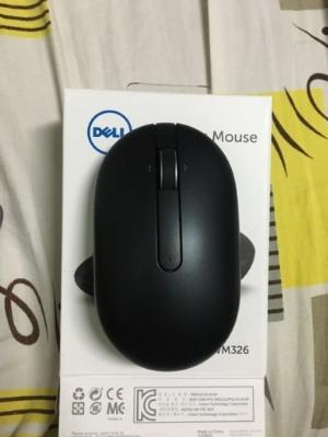 Chuột không dây Dell WM326 đen chính hãng