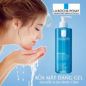 Gel Rửa Mặt Tạo Bọt La Roche Posay Effaclar Purifying Foaming Gel For Oily Sensitive Skin 400ml