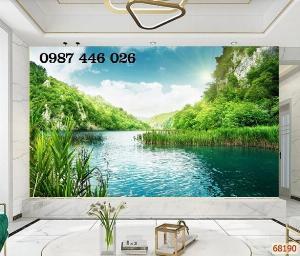 Gach tranh phong cảnh tự nhiên HP0474