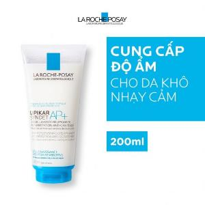 Sữa Tắm Cho Da Khô, Mẩn Đỏ Ngứa La Roche Posay Lipikar Syndet AP+ Cream 200ml
