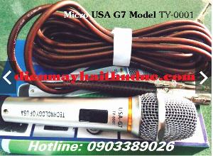 Micro có dây USA-G7 Model TY-0001