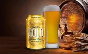Bia Sài Gòn Gold phiên bản hoàng kim (18 lon) bia Tết ngon như Bia Bỉ ( Shopee giao 2h )