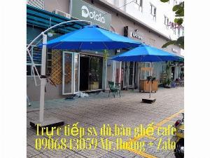 Dù cà phê che nắng mưa giá xưởng- nội thất Nguyễn hoàng