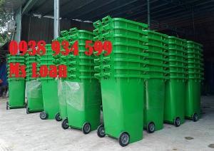 Thùng rác công cộng 240 lít giá rẻ tại Sài Gòn