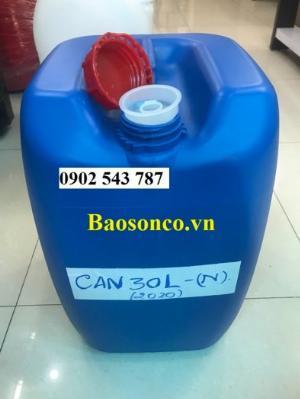 Can nhựa đựng hóa chất ,can nhựa 25 lít