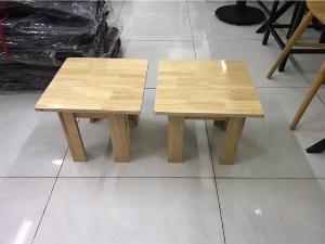 Bộ bàn ghế gỗ thấp Cafe giá rẻ - nội thất Nguyễn hoàng