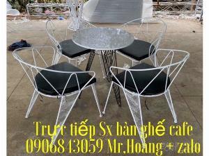 Bàn ghế sắt thái Lan tuyệt đẹp - nội thất Nguyễn hoàng