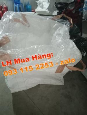 Bao jumbo 1 tấn đựng lúa gạo, Bao jumbo ủ chua thức ăn chăn nuôi