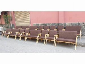 Ghế sofa gỗ nệm giá ưu đãi - nội thất Nguyễn hoàng