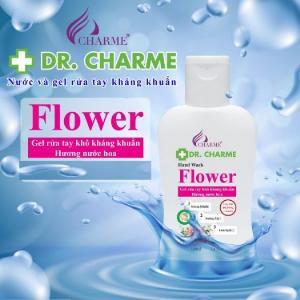 Gel Rửa Tay Khô Kháng Khuẩn Dr. Charme Flower 100ml