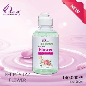 Gel Rửa Tay Khô Kháng Khuẩn Dr. Charme Flower 250ml