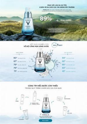2021-01-16 15:44:23  2  Dưỡng Chất Giàu Khoáng Chất Vichy Mineral 89 Giúp Da Sáng Mịn Và Căng Mượt 30ml 620,000