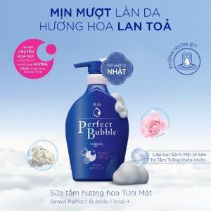 2021-01-16 15:54:16  1  Sữa Tắm Dưỡng Ẩm Senka Perfect Bubble - Hương Linh Lan & Hoa Nhài 500ml 149,000