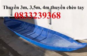 Xuồng nhựa 3m, Xuồng 3 lá, xuồng 5 lá giá rẻ tại Sài Gòn