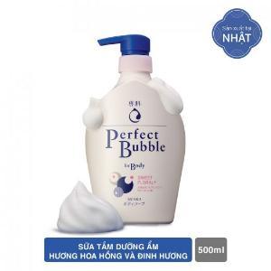 2021-01-16 15:56:23 Sữa Tắm Dưỡng Ẩm Senka Perfect Bubble - Hương Hoa Hồng & Đinh Hương 500ml 149,000