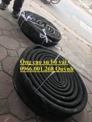2021-01-16 16:07:41  5  Ống cao su bố vải  hàng Việt Nam,Trung Quốc xả cát, ống xả nước, xả bùn D100,D114,D120,D150,D200 160,000