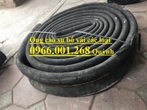 2021-01-16 16:07:41  4  Ống cao su bố vải  hàng Việt Nam,Trung Quốc xả cát, ống xả nước, xả bùn D100,D114,D120,D150,D200 160,000