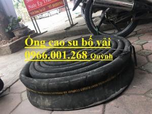 Ống cao su bố vải  hàng Việt Nam,Trung Quốc xả cát, ống xả nước, xả bùn D100,D114,D120,D150,D200