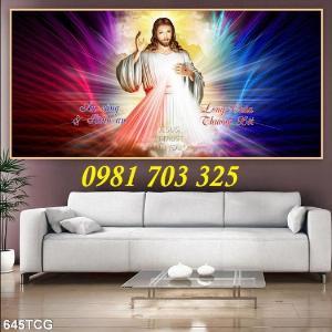 2021-01-16 16:23:12  6  Gạch tranh công giáo, tranh lòng thương xót Chúa 1,200,000