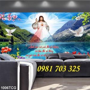 2021-01-16 16:23:12  5  Gạch tranh công giáo, tranh lòng thương xót Chúa 1,200,000