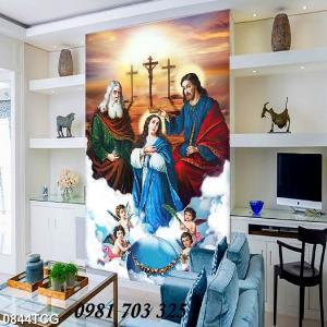 2021-01-16 16:24:13  3  Tranh gạch công giáo, tranh ia đình thánh gia 1,200,000