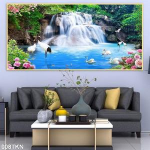 2021-01-16 16:25:42  6  Gạch tranh 3D phong cảnh, tranh 3D phòng khách 1,200,000
