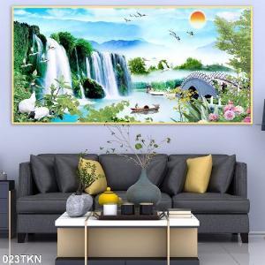 2021-01-16 16:25:42  4  Gạch tranh 3D phong cảnh, tranh 3D phòng khách 1,200,000