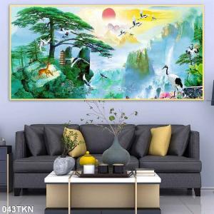 2021-01-16 16:25:42  3  Gạch tranh 3D phong cảnh, tranh 3D phòng khách 1,200,000