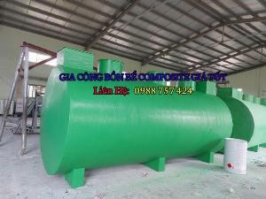 2021-01-16 16:51:37  3  Bể tự hoại Composite – Septic tank Composite – Bể phốt composite 15,000,000