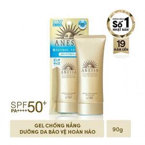 2021-01-16 17:58:39  4  Gel Chống Nắng Dưỡng Ẩm Chuyên Sâu Anessa Perfect UV Sunscreen Skincare Gel SPF50+ PA++++ 90g 550,000