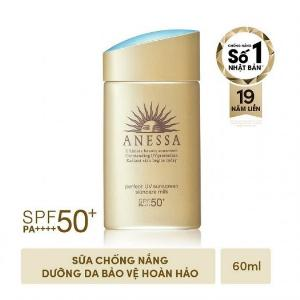2021-01-16 18:24:09 Sữa Chống Nắng Dưỡng Da Anessa Perfect UV Sunscreen Skincare Milk SPF 50+ PA++++ 60ml 685,000