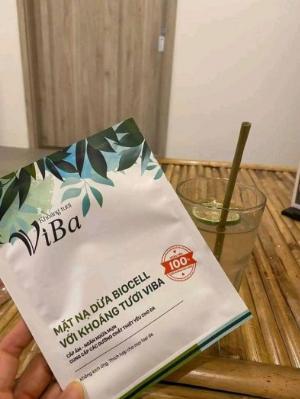 2021-01-16 18:36:22 Mặt nạ khoáng tươi Viba Biocell từ dừa tươi 79,000