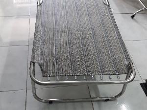 Giường xếp lưới inox giá sỉ tại xưởng sả