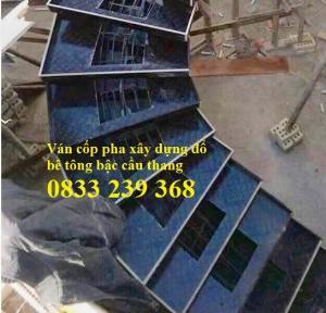 Ván khuôn bê tông phủ phim, Ván làm vách ngăn phòng tại Hà Nội