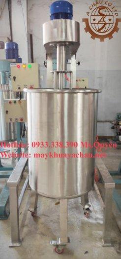 Máy đồng hóa sữa 200 lít inox