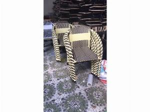 Ghế nhựa giả mây cafe giá xưởng- nội thất Nguyễn hoàng