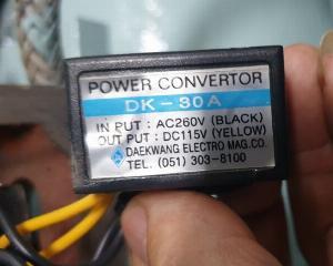 2021-01-18 13:00:02 Power Convertor DK-30A 300,000