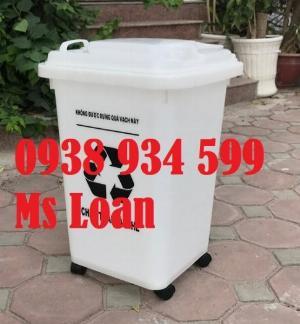 2021-01-18 13:56:27  4  Thùng rác 60 lít,thùng rác công cộng 60 lít giá rẻ 280,000