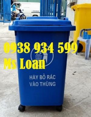 2021-01-18 13:56:27  3  Thùng rác 60 lít,thùng rác công cộng 60 lít giá rẻ 280,000