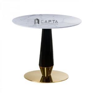 2021-01-18 14:29:41 Bộ bàn tròn tiếp khách mặt đá chân sắt 2 ghế sang trọng tại HCM CAPTA 6,250,000