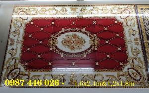 2021-01-18 14:59:46  2  Gạch thảm sàn, gạch trang trí hoa văn phòng khách HP822 2,690,000