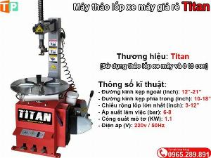 2021-01-18 16:14:27 Máy tháo lốp xe giá rẻ Titan 14,000,000